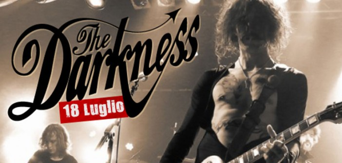 The Darkness Italy 2015
